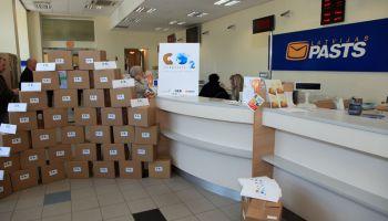 """""""Latvijas pasta"""" piegādātos sūtījumus no trešajām valstīm būs jādeklarē elektroniski"""
