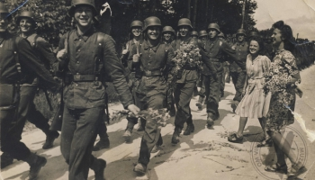 Otrais pasaules karš. 1943. gads. Latviešu leģiona izveide