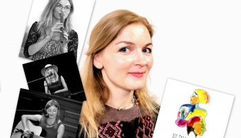 Zelta pogas sabiedrībā dzejniece un dziesminiece Elīna Līce