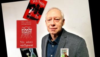 Zelta Pogas sabiedrībā rakstnieks, daudzu populāru bērnu grāmatu autors MĀRIS RUNGULIS