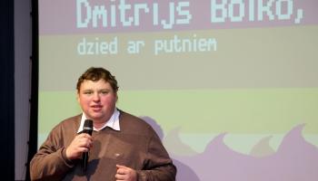 Dmitrija Boiko sirds pieder gulbjiem