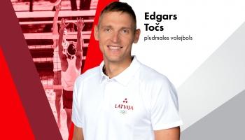 Olimpieša vizītkarte: Edgars Točs