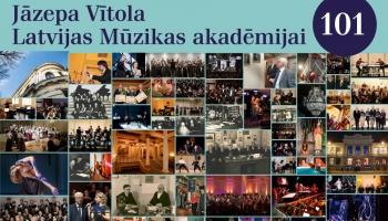 J. Vītola Latvijas Mūzikas akadēmijai - 101. dzimšanas diena! Studijā Guntars Prānis