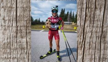 Pēc treniņnometnes Rumānijā tiekamies pašmāju labāko biatlonisti Baibu Bendiku