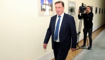 Premjerministrs Māris Kučinskis grasās vērtēt ministru paveikto