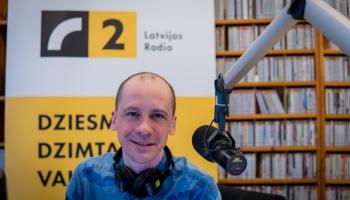 Brīvais mikrofons ar Latvijas Radio direktoru Kasparu Mauriņu