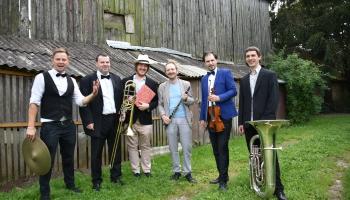 """Jakob Noiman Festival Band"" jubilejas koncerts VEF Kultūras pilī"