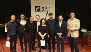 """Evilena Protektore un """"Jazzatomy""""  Latvijas Radio 1. studijā programmā """"Lilacs"""""""