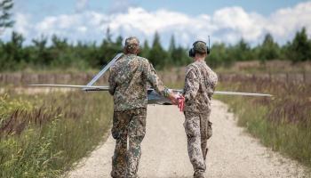 Unikāls ieskats Latvijas armijas tehnoloģijās - sakari, sensori un tehnoloģiju integrācija