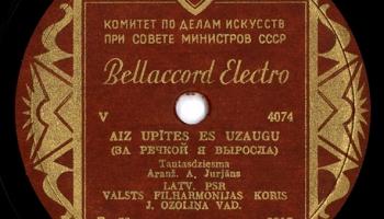 """Vai zini, ka Kārļa Ulmaņa laikā """"Bellaccord Electro"""" saskārās ar cenzūru?"""