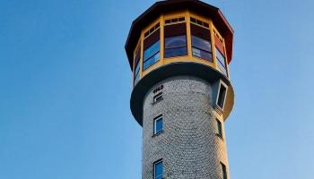 Местные примечательности. Водонапорная башня в Айзпуте