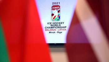 Starptautiskā hokeja federācija lems, vai hokeja čempionāts varēs notikt Baltkrievijā
