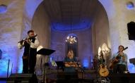 """Koncerts """"Trīs upes"""" Vīlandes Tautas mūzikas festivālā (2019)"""
