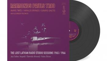 """# 190 Raimonda Paula trio: """"The Lost Latvian Radio Studio Sessions 1965/1966"""" (2021)"""