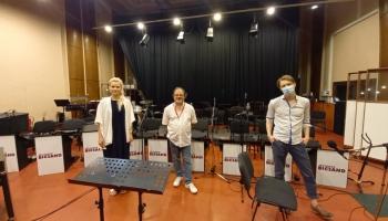 Tiešraides koncertam gatavi! Studijā - Raitis Ašmanis un Anete Ašmane