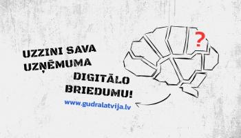 """Ar kampaņu """"Gudrā Latvija"""" aicina uzņēmumus ieviest jaunus IT risinājumus"""