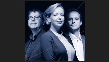 Sandis Šteinbergs un Mārtiņš Zilberts par LNSO klaviertrio koncertu Lielajā ģildē