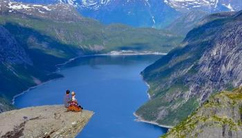 Kārtība, tīrība, svaigs gaiss un plašums - Norvēģija!