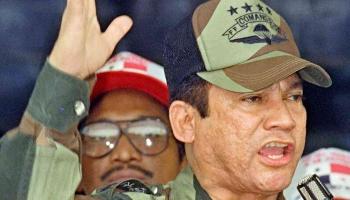 5. februāris. Panamas diktatora Manuela Norjegas varas beigu sākums