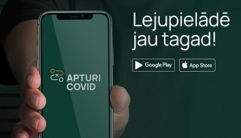 Aplikācija COVID 19 kontaktpersonu noteikšanai