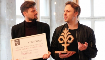 Austras balva: viesos Lauris Anstrauts un Normunds Vucāns