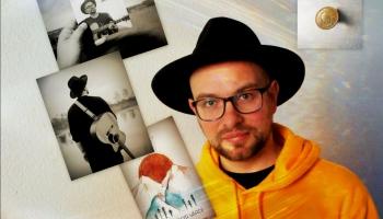 Zelta Pogas sabiedrībā - komponists, dziedātājs, dzejnieks Lauris Valters