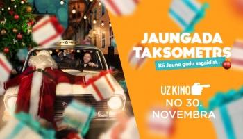Jauna veida pašmāju kino - Jaungada taksometrs