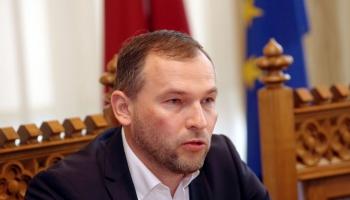 Krustpunktā Rīgas domes administrācijas vadītājs Edvīns Balševics