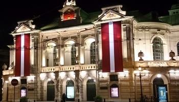Nacionālais teātris - vieta, kur pasludināja Latvijas Republiku