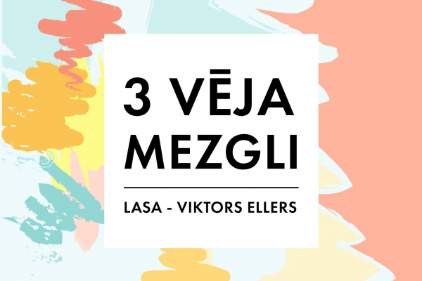 """Pasaku """"Trīs vēja mezgli"""" stāsta Liepājas teātra aktieris Viktors Ellers"""