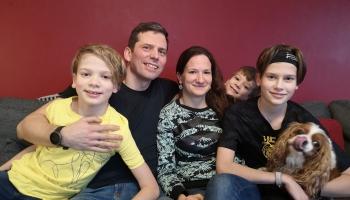 Vilcānu ģimene Baldonē ar prieku pieņem izaicinājumus