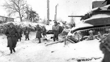 12. janvāris. Sākas Sarkanās armijas uzbrukums Austrumu frontē Otrā pasaules kara laikā