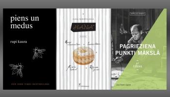 """Rupi Kauras """"Piens un medus"""", sērija  """"Mākslas pamati"""" un Mornštainovas romāns """"Hana"""""""
