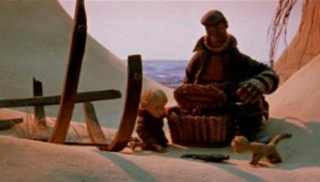 """Arnolda Burova animācijas filma """"Vanadziņš"""" (1978) - cilvēcības mācība"""