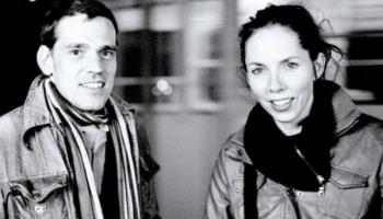 Mākslinieku pāris Katrīna Neiburga un Andris Eglītis