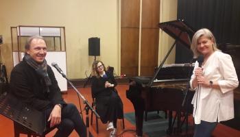 Diāna Ketlere un Pauls Putniņš koncertam Latvijas Radio 1. studijā gatavi!