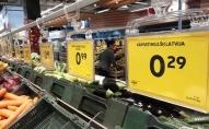 Salīdzinātas pārtikas cenas Baltijas valstu galvaspilsētās