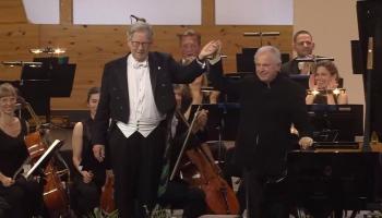 Džons Eliots Gārdiners, Andrāšs Šifs un Marisa Jansona Festivāla orķestris