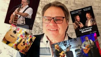 Zelta pogas sabiedrībā komponists un dziesminieks Āris Ziemelis