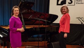 Pianistes Agneses Egliņas solokoncerts Latvijas Radio 1. studijā