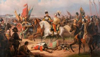 27. septembris. Polijas-Lietuvas karaspēks Salaspils kaujā svinēja uzvaru pār zviedriem