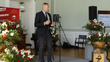 """""""Veselības centra 4"""" valdes priekšsēdētājs Māris Rēvalds"""