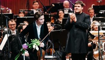 LNSO Vecgada koncerts Lielajā ģildē