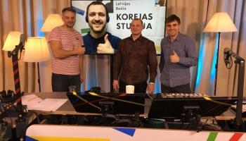Korejas studija. Ciemos bijušais bobslejists Māris Rozentāls