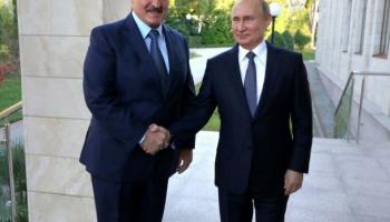 Lukašenko un Putins tiekas Sočos