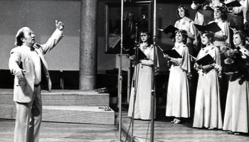 """Rīgas kamerkora """"Ave Sol"""" ieskaņojumi no 1969. gada līdz mūsdienām"""