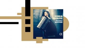 """Ksenija Sidorova jaunākajā tvartā """"Piazzolla Reflections"""" un saruna ar mākslinieci"""