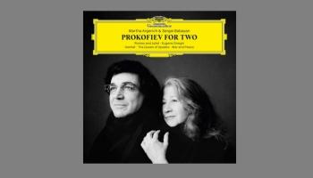 """Sergeja Prokofjeva Tokāta klavierēm op. 11 un albums """"Prokofjevs diviem"""""""