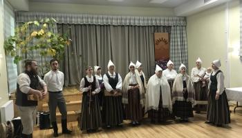"""Folkloras kopas """"Vīraksne"""" 35. gadskārta un grupas """"Svīres"""" debijas albums """"Pūrs"""""""