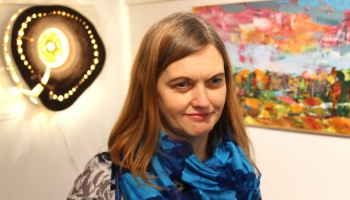 Инга Салминя: Моё дело – стекло и картины